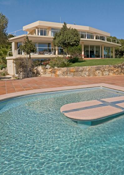 Villa Bosche, Large and luxury villa in Jesus, Ibiza, Spain  with private pool for 12 persons...