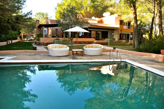 Can Aca Pulco, Beautiful and comfortable villa in Cala Llenya, Ibiza, Spain  with private pool for 8 persons...