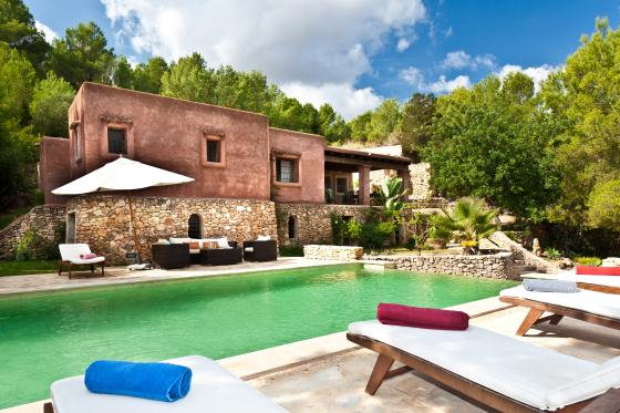 Niko, Classic and comfortable villa  with private pool in Santa Eulalia, Ibiza, Spain for 6 persons...