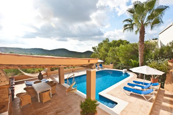Olivo House, Wonderful and comfortable villa in Can Furnet, Ibiza, Spain  with private pool for 8 persons...