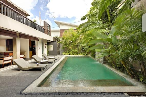 Tenang,Wonderful and cheerful villa in Canggu, Bali, Indonesia  with private pool for 6 persons...