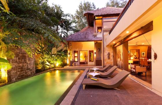 Tenang 1BR, Wonderful and cheerful villa in Canggu, Bali, Indonesia  with private pool for 2 persons...