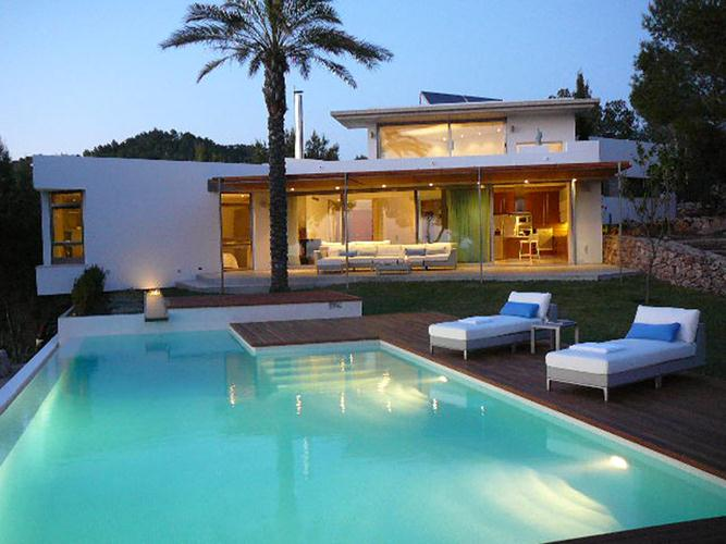 Can Solpos, Modern and luxury villa in Cala Salada, Ibiza, Spain  with private pool for 10 persons...