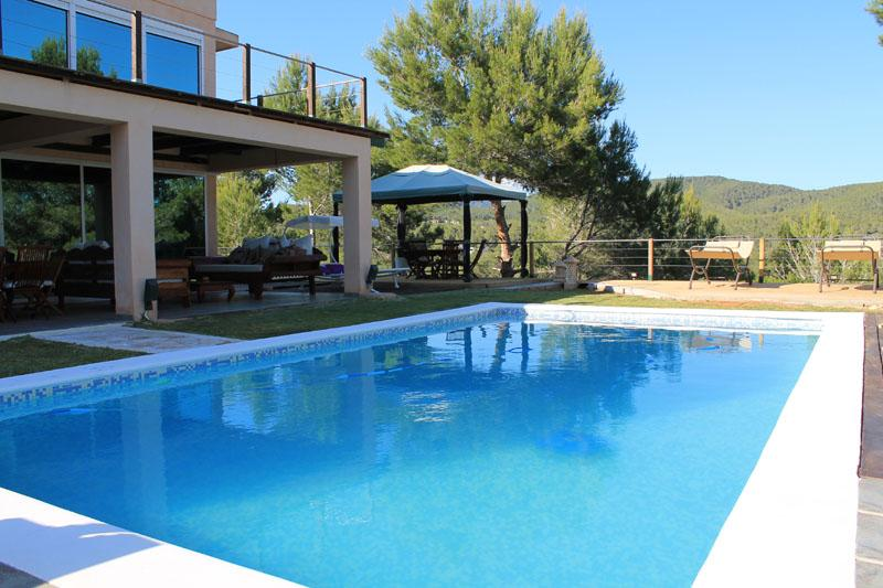 Paixa, Large villa  with private pool in Cala Jondal, Ibiza, Spain for 10 persons...