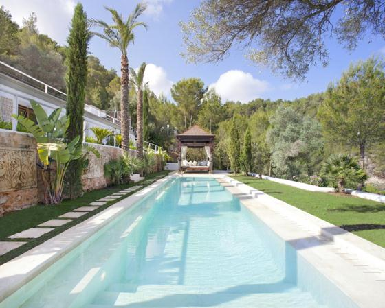 Casa Ermita, Large and luxury villa  with private pool in San Miguel, Ibiza, Spain for 16 persons...