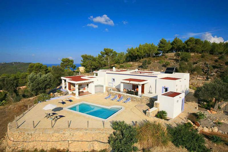 Rosita, Villa in San Juan, Ibiza, Spain  with private pool for 8 persons...