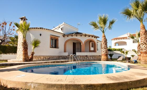 Villa Magrana, Beautiful and comfortable villa in Denia, on the Costa Blanca, Spain  with private pool for 6 persons.....