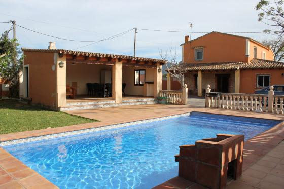 Villa Almendros, Villa in Denia, on the Costa Blanca, Spain  with private pool for 8 persons.....