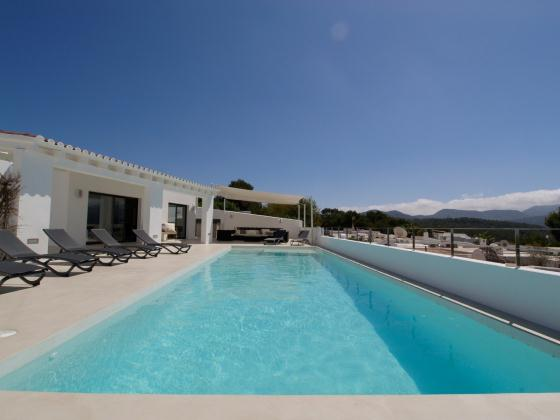701, Villa  with private pool in Cala Conta, Ibiza, Spain for 10 persons...