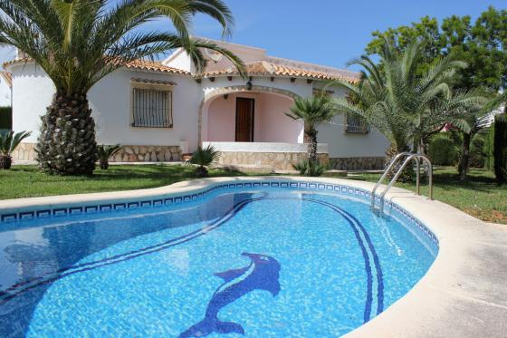 Villas Olivar, Wonderful and nice villa  with private pool in Denia, on the Costa Blanca, Spain for 6 persons.....