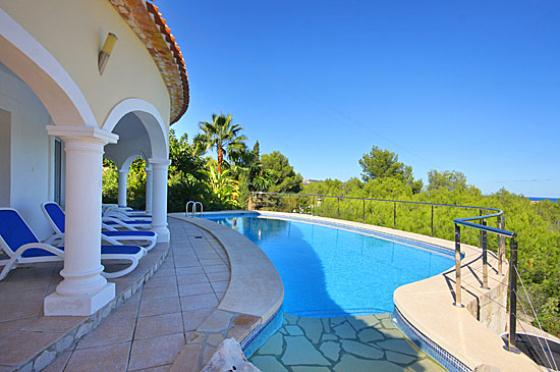 Villa Jarmila 6 pax, Beautiful and comfortable villa  with private pool in Javea, on the Costa Blanca, Spain for 6 persons.....