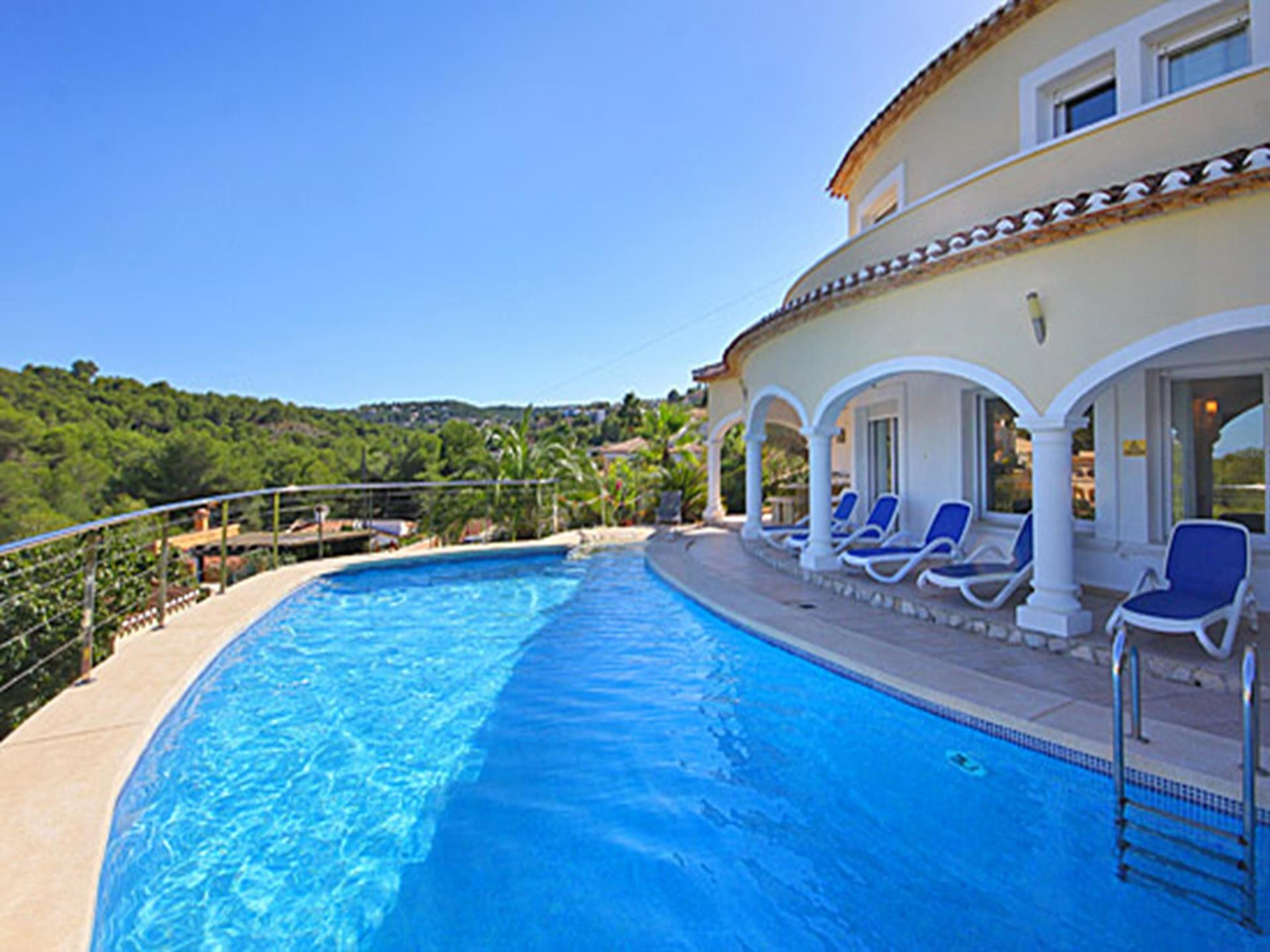 Villa Jarmila 4 pax, Beautiful and comfortable villa  with private pool in Javea, on the Costa Blanca, Spain for 4 persons...