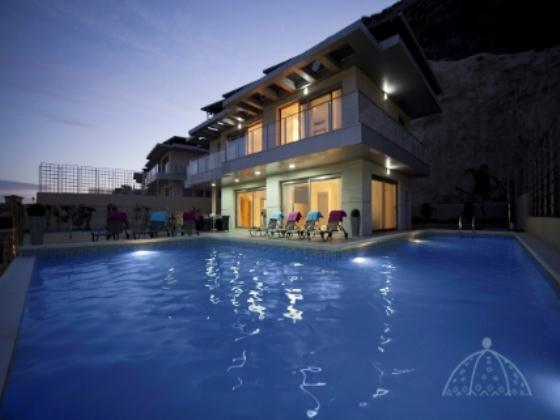 Altos de Finestrat, Comfortable villa in Altea, on the Costa Blanca, Spain  with private pool for 6 persons.....