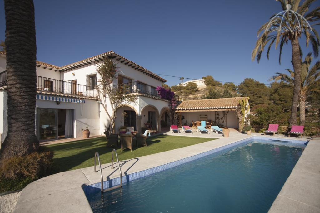 Montemolar 6, Grosse Villa in Altea, an der Costa Blanca, Spanien  mit privatem Pool für 6 Personen.....