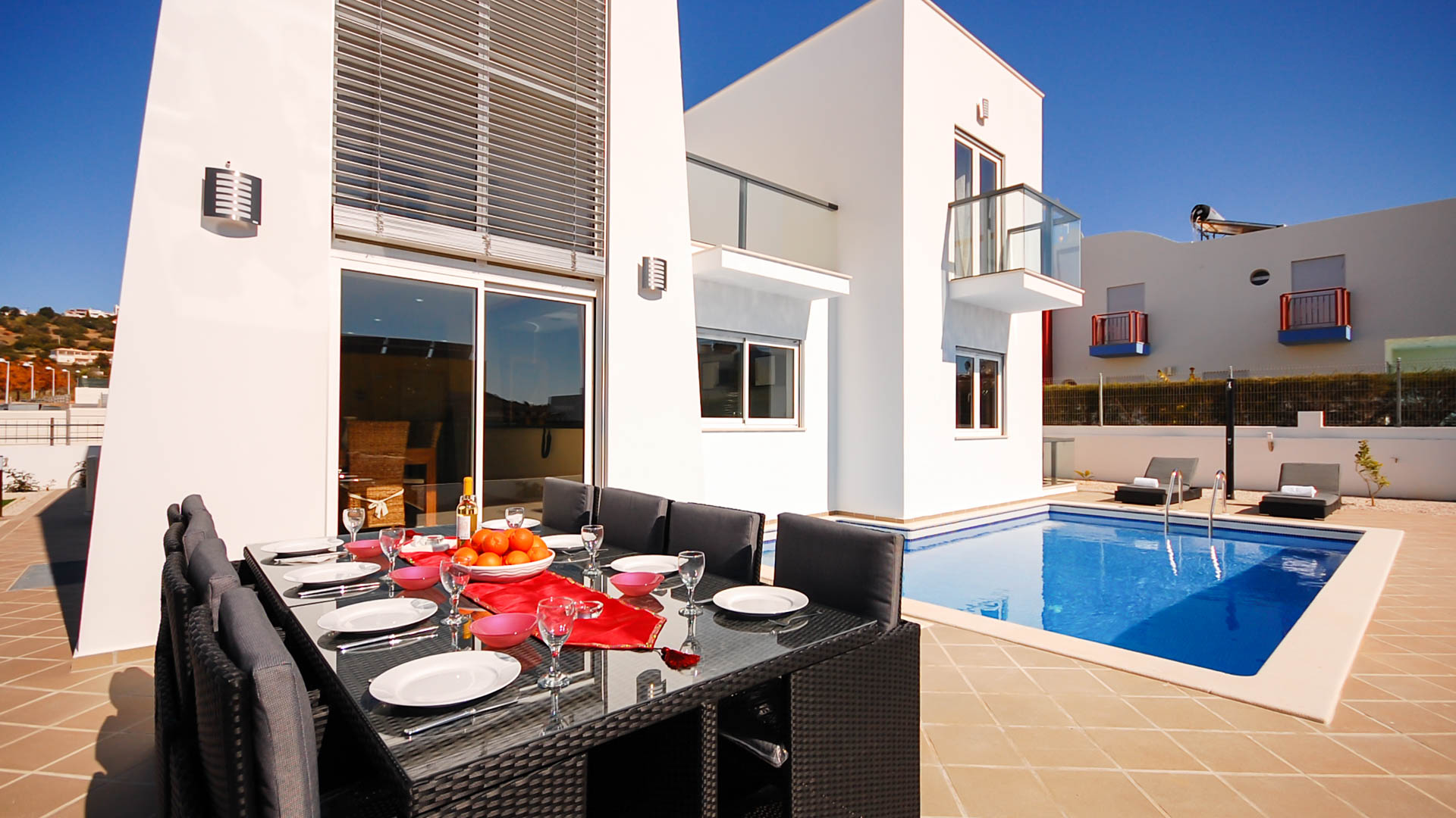 Villa albufeira ls419, Modern and comfortable villa  with private pool in Albufeira, on the Algarve, Portugal for 8 persons...