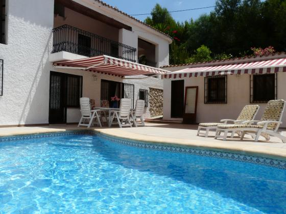 Jazmin, Villa in Altea, on the Costa Blanca, Spain  with private pool for 8 persons.....