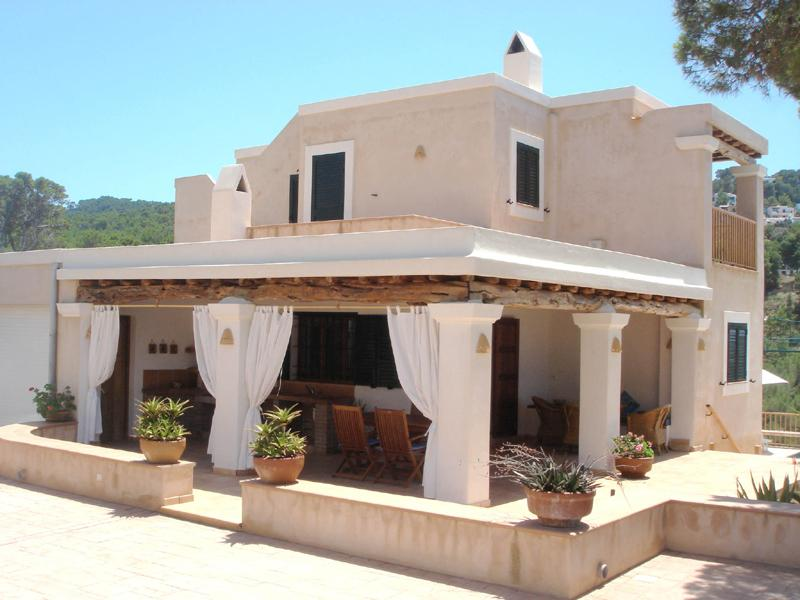 Can sa punto, Lovely and comfortable villa in Cala Vadella, Ibiza, Spain  with private pool for 8 persons...