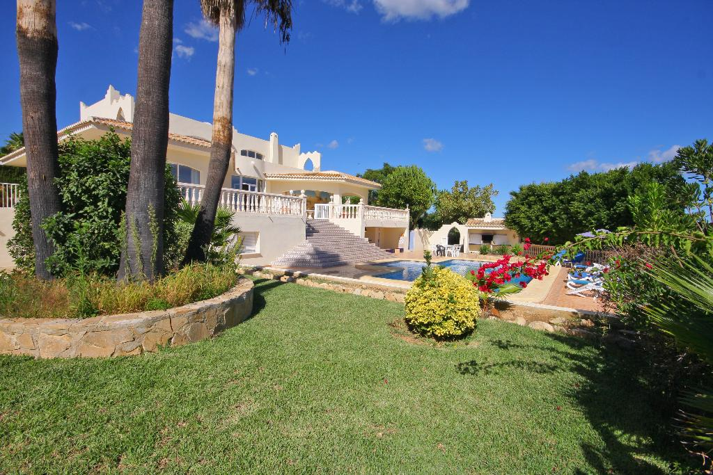 Villa Cora, Large and romantic villa  with private pool in Javea, on the Costa Blanca, Spain for 8 persons.....