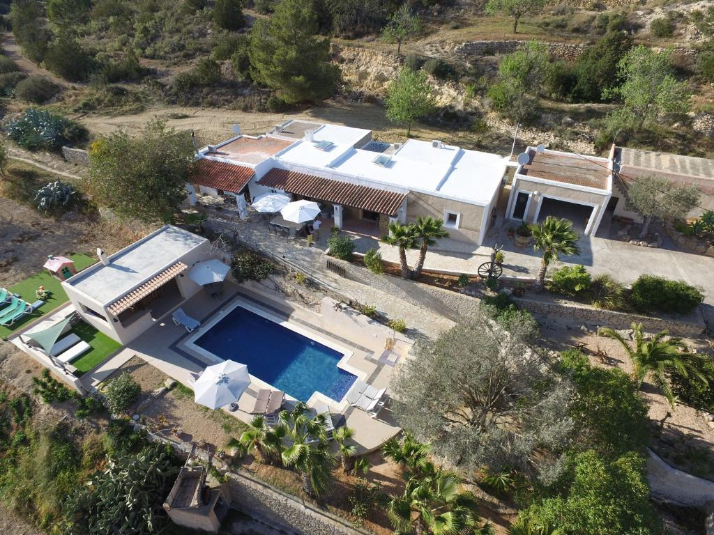 607 10p, Villa in Es Cubells, Ibiza, Spain  with private pool for 10 persons...