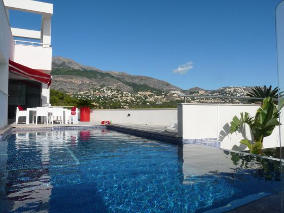 Dolce Vita, Villa  with private pool in Altea, on the Costa Blanca, Spain for 8 persons.....