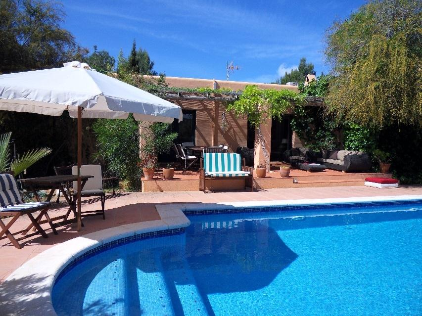 636,Villa  with private pool in Cala Jondal, Ibiza, Spain for 6 persons...