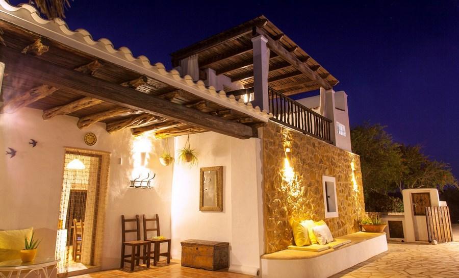 637,Villa a San Jose, Ibiza, in Spagna  con piscina privata per 8 persone...