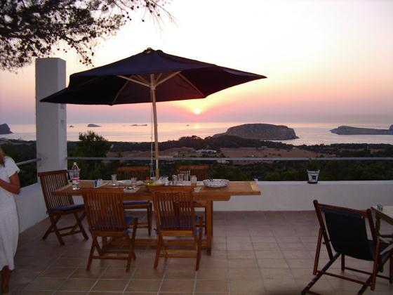656,Villa in Cala Conta, Ibiza, Spain  with private pool for 8 persons...