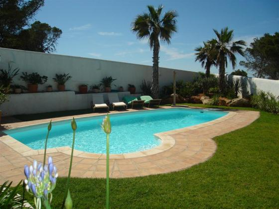 704 10 pax, Villa  with private pool in Cala Vadella, Ibiza, Spain for 10 persons...