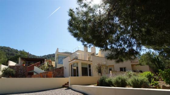 716, Villa  with private pool in Cala Tarida, Ibiza, Spain for 6 persons...