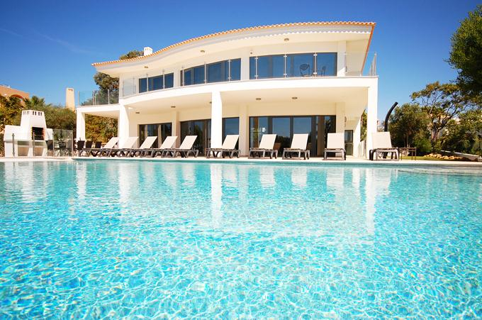 Villa Albufeira LS430,Wonderful and luxury villa  with private pool in Albufeira, on the Algarve, Portugal for 10 persons...