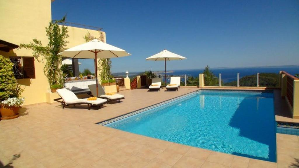 766, Villa in Es Cubells, Ibiza, Spain  with private pool for 8 persons...