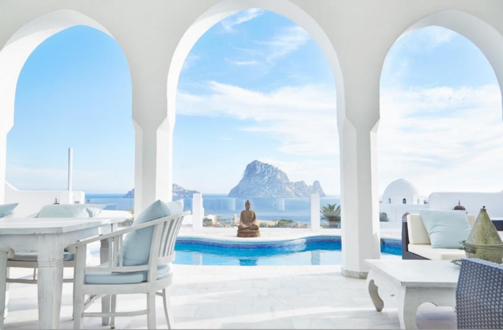 771, Villa  with private pool in Cala Carbo, Ibiza, Spain for 7 persons...