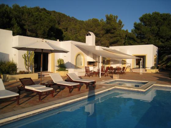 776, Large villa in San Jose, Ibiza, Spain  with private pool for 10 persons...
