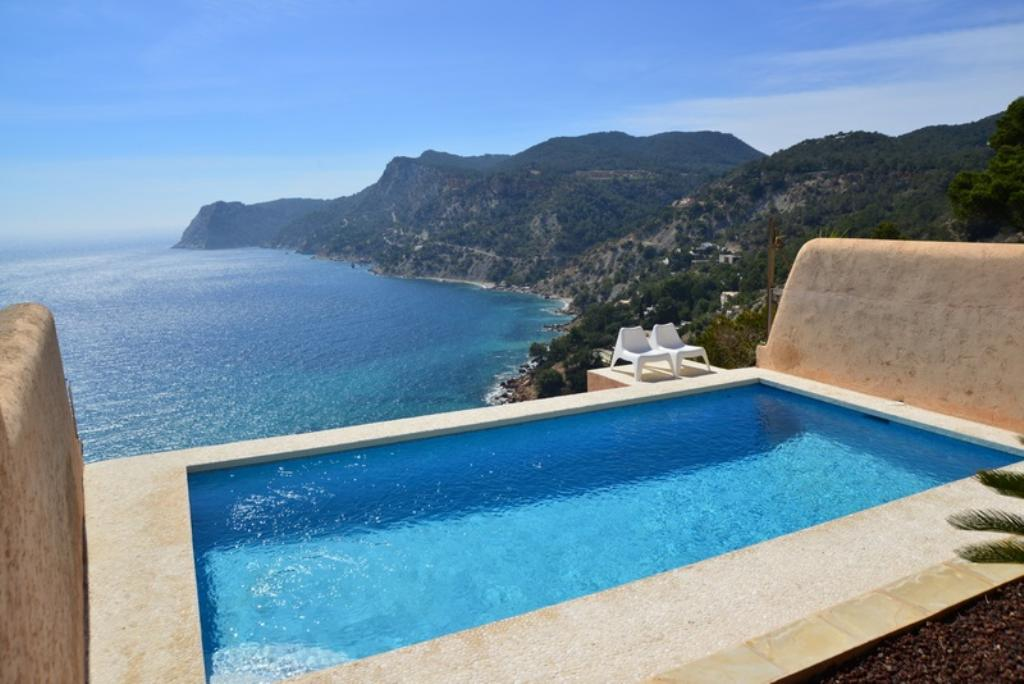 793, Villa  with private pool in Es Cubells, Ibiza, Spain for 8 persons...