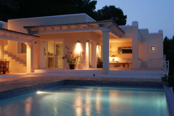 708,Villa in Es Cubells, Ibiza, Spain  with private pool for 8 persons...