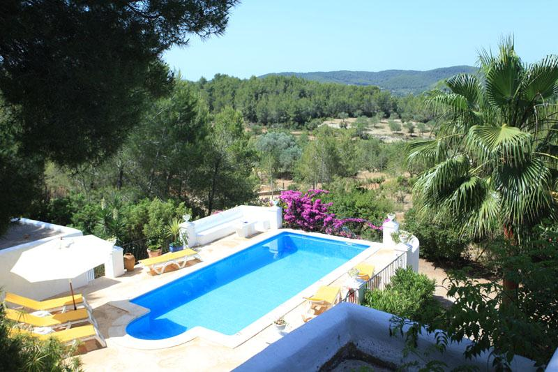 La coloma, Villa in San Juan, Ibiza, Spain  with private pool for 8 persons...