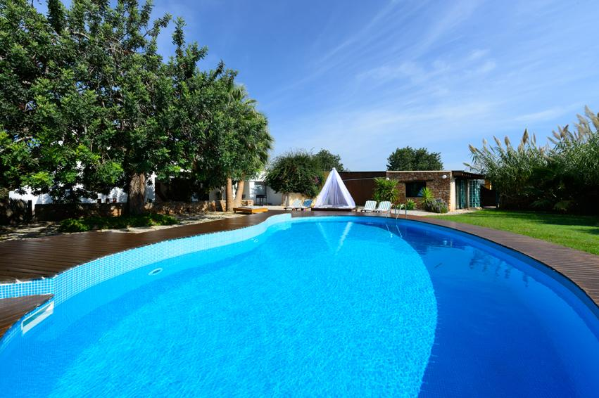 Can Jordi de Dalt, Beautiful and comfortable villa in San Jordi, Ibiza, Spain  with private pool for 8 persons...