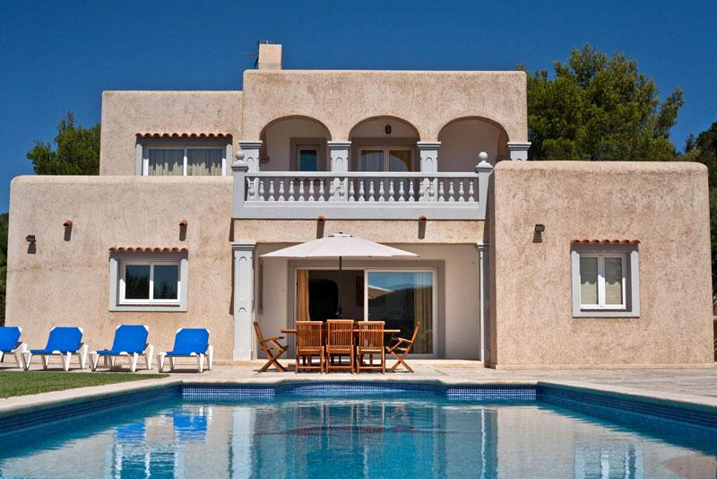 La coqueta, Large and comfortable villa  with private pool in San Jose, Ibiza, Spain for 8 persons...