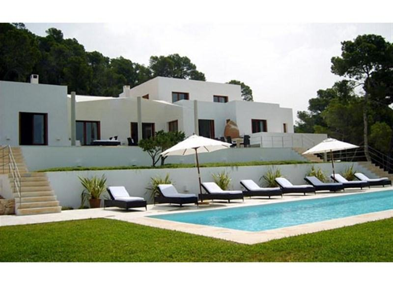 841, Large and luxury villa in Calo d en Real, Ibiza, Spain  with private pool for 12 persons...