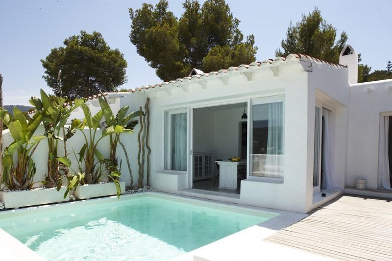 727,Villa  with private pool in Cala Vadella, Ibiza, Spain for 8 persons...
