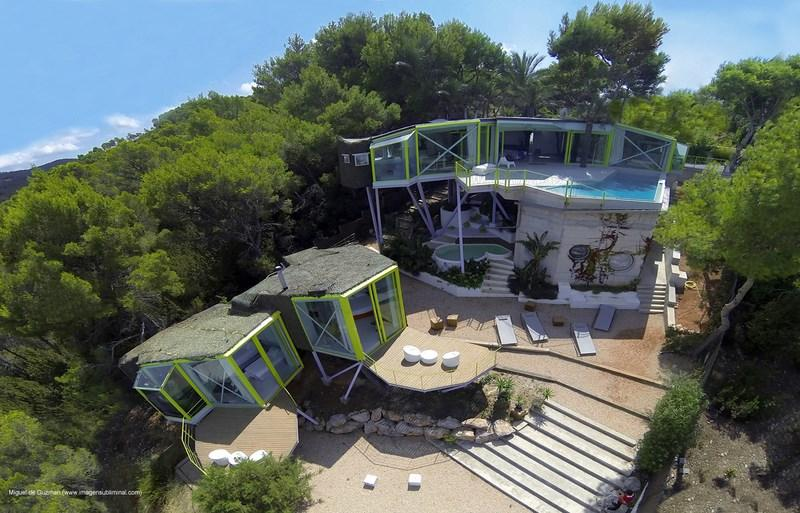 880, Villa  with private pool in Cala Vadella, Ibiza, Spain for 8 persons...