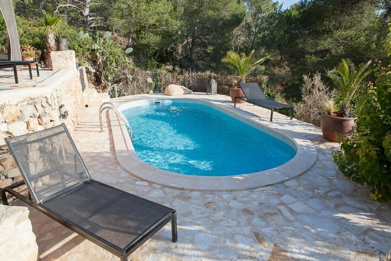 798, Villa in Salinas, Ibiza, Spain  with private pool for 8 persons...