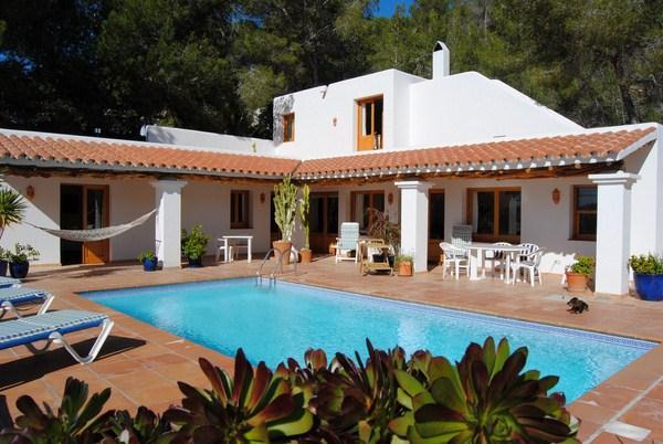 304,Villa  with private pool in Cala Salada, Ibiza, Spain for 6 persons...