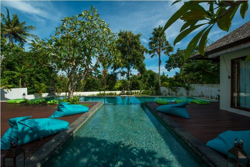 Nelayan, Beautiful and nice villa  with private pool in Canggu, Bali, Indonesia for 8 persons...