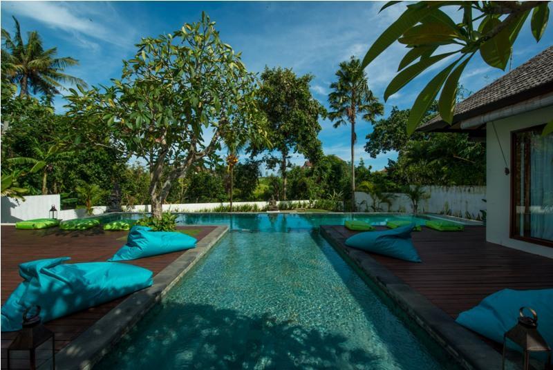 Nelayan,Villa bonita y graciosa  con piscina privada en Canggu, Bali, Indonesia para 8 personas...