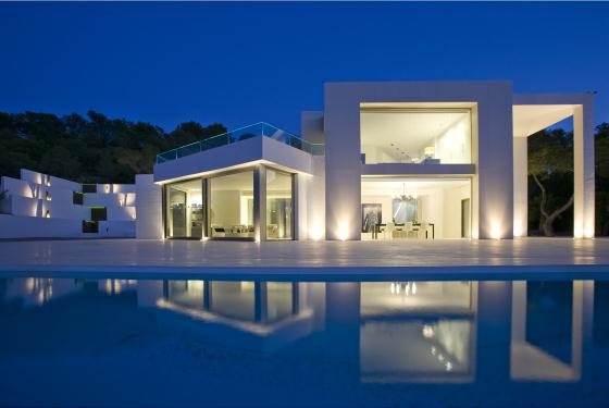 Villa Clara, Large and luxury villa in San Agustín, Ibiza, Spain  with private pool for 8 persons...