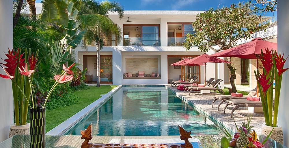 Casa Brio, Modern and luxury villa  with private pool in Seminyak, Bali, Indonesia for 8 persons...