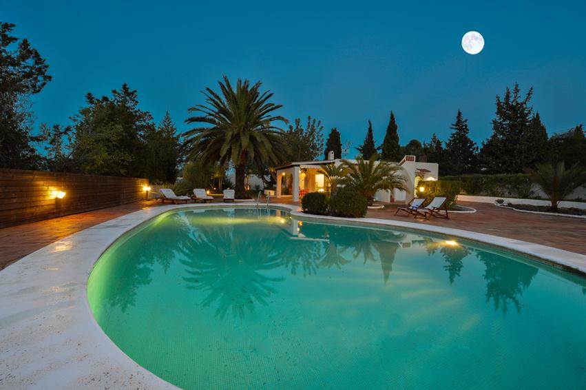 Can Martone, Comfortable villa  with private pool in San Agustín, Ibiza, Spain for 8 persons...