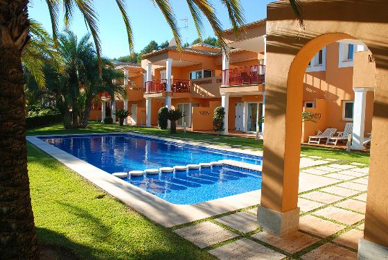 CARRASCAL GOLF J, Wonderful and comfortable apartment in Denia, on the Costa Blanca, Spain  with communal pool for 4 persons...