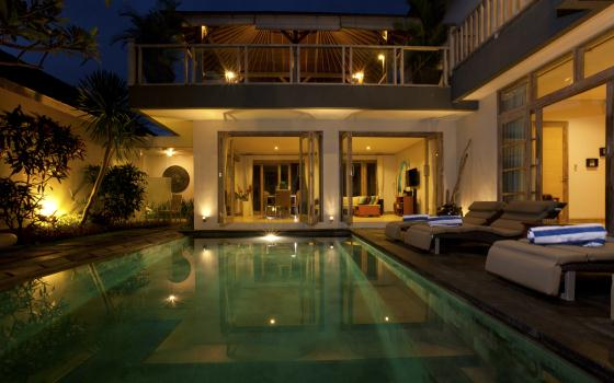Coral 1br, Beautiful and luxury villa  with private pool in Canggu, Bali, Indonesia for 2 persons...